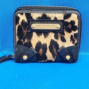 Juicy Couture Accordion style leopard print wallet